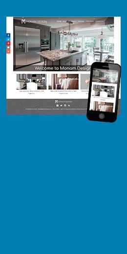 Monam Design website thumbnail